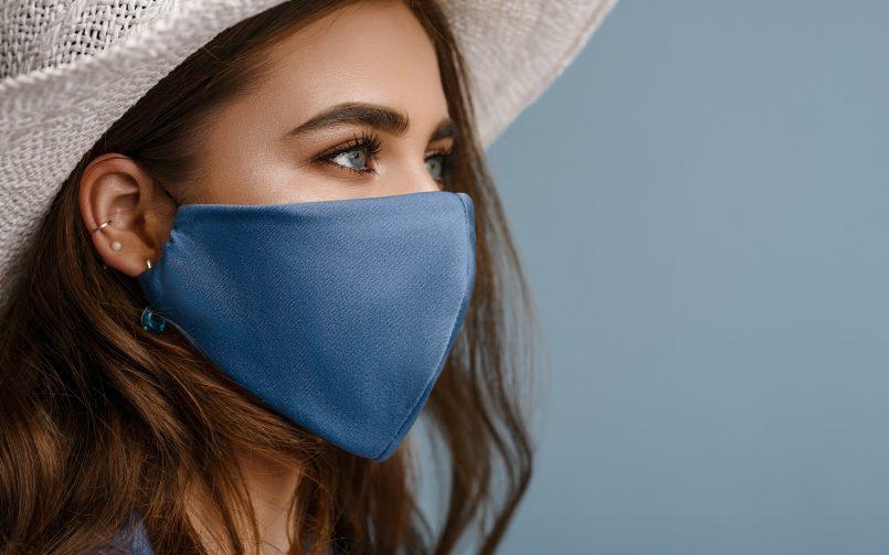 Wearing a mask - Covid 19