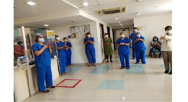 Wockhardt Hospital Hand Hygiene Campaign